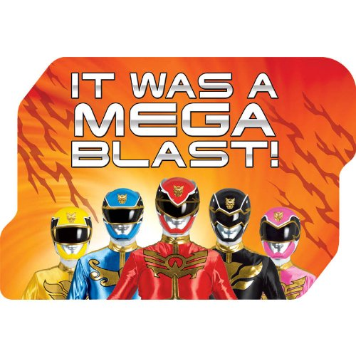 Power Rangers Thank You Cards (8 Pack)