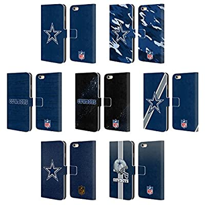 Official NFL Dallas Cowboys Logo Leather Book Wallet Case Cover For Apple iPhone 6 Plus / 6s Plus