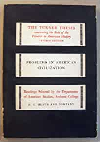 Frontier american history thesis