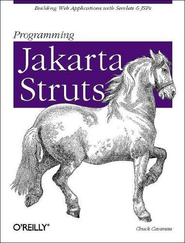Programming Jakarta Struts, Cavaness, Chuck