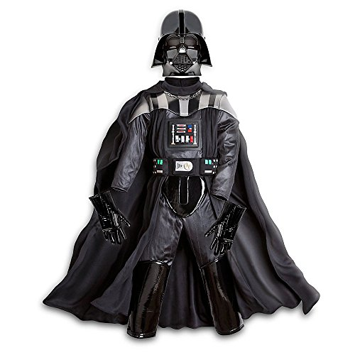 Disney Store Deluxe Darth Vader Costume for Boys Star Wars Size M 7 - 8