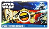 51AawUeBOaL. SL160  Star Wars Clone Wars Grievous Spinning Lightsaber