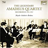 The Legendary Amadeus Quartet : Recordings 1951-1957