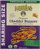 Annie's Organic Cheddar Bunnies, 11 oz, 4 Pack