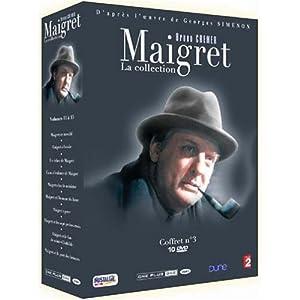 Maigret volume 3 10 dvd set maigret en meubl maigret - Meuble rangement blu ray ...