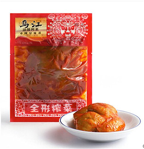 Wujiang Fulin whole Preserved Szechuan Pickled Stew Saltiness 300g (White Pickled Ginger compare prices)
