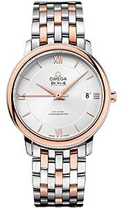 Omega De Ville Prestige Co-Axial Silver Dial Mens Watch 424.20.37.20.02.002