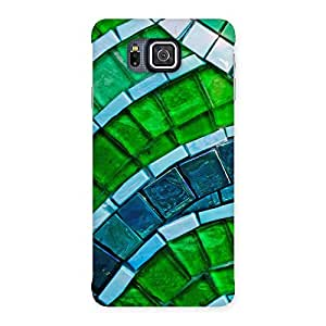 Enticing Green Footpath Back Case Cover for Galaxy Alpha