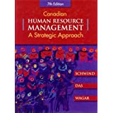 Canadian Human Resource Managementby Hermann Schwind