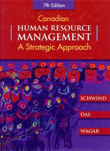 Canadian Human Resource Management