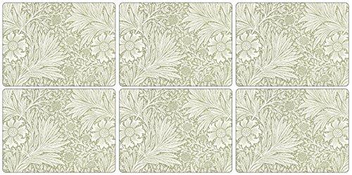 Pimpernel, Tovagliette all'americana, motivo: Marigold Green, Multicolore (multi-coloured)