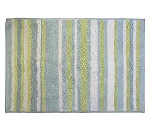 Park B Smith Magic Plush Stripe Cotton Bath Rug 24 By 40