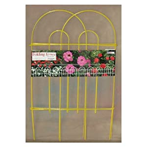 Glamos 770120 32-Inch High by 10-Feet Long Yellow Fence