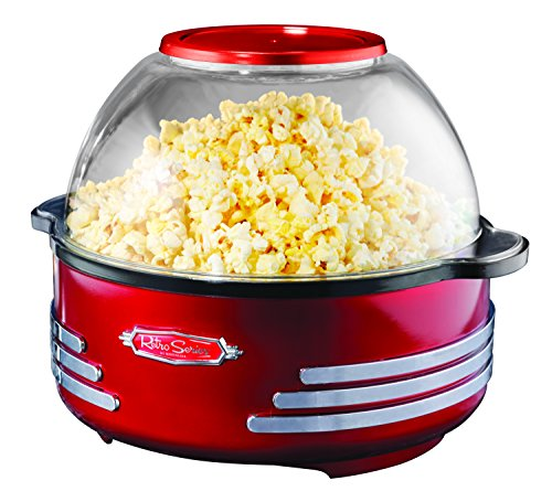Nostalgia SP300RETRORED Retro Series 6-Quart Stirring Popcorn Popper (Popcorn Maker Retro compare prices)
