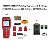 OBDSTAR X-100 PRO Auto Key Programmer (C+D+E) Type for IMMO+OBD Software Get OBDSTAR PIC and EEPROM 2-in-1 Adapter Free
