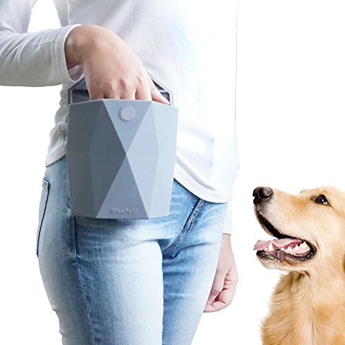 WooPet! Dog Treat Pouch, Gray, 24oz (Young Again Dog Food compare prices)