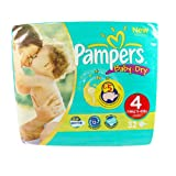Pampers Baby-Dry Nappies Size 4 (Maxi) x 32