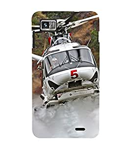 Vizagbeats helicopter Back Case Cover for Lenovo 860