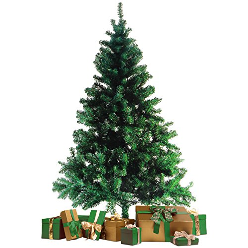 Wohaga® christmas tree with stand 70' 600 branches decoration fir tree