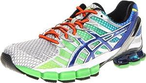 ASICS Men's GEL-Kinsei 4 Running Shoe,Lime/Royal/Lightning,11 M US