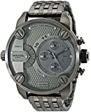 Diesel Men's DZ7263 Little Daddy Series Analog Display Analog Quartz Grey Watch