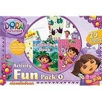Dora The Explorer Activity Fun Pack-1, Multi Color