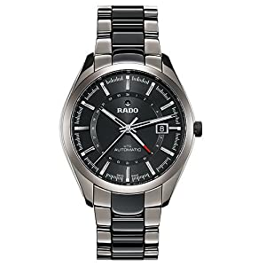 Rado HyperChrome XL Black Dial Black Ceramic and Stainless Steel Bracelet and Case Mens Watch R32165152