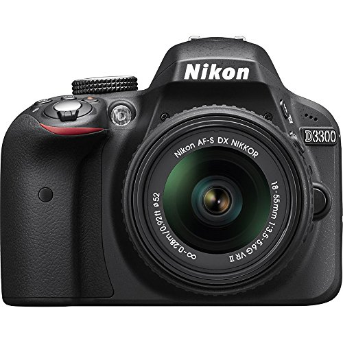 Nikon D3300 24.2 MP CMOS Digital SLR with AF-S DX...