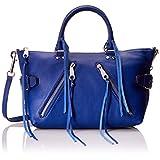 Rebecca Minkoff Moto Satchel Tote Shoulder Bag, Cobalt, One Size