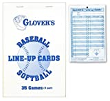 Glover's BB-103 Lineup Cards