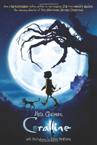 The Well-Read Redhead: Book Review: Coraline by Neil Gaiman