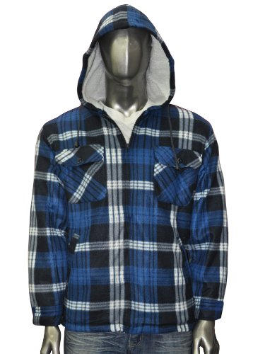 Bruno Galli Mens Wool Jacket with Hood