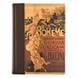 Eccolo Italian Opera Journal With Leather Spine and Back, 5 x 7-Inch, Boheme