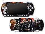 Batman Begins Dark Knight Rises Joker Bane Two Face Video Game Vinyl Decal Skin Sticker Cover for Sony PSP Playstation Portable Original Fat 1000 Series System