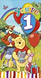 winnie the pooh you're 1 1st birthday card
