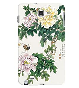 GADGET LOOKS PRINTED BACK COVER FOR Samsung Galaxy Note 1 MULTICOLOR
