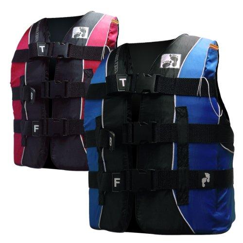 50N Buoyancy Aid Life Jacket Children's Lifejacket (Small, Blue)