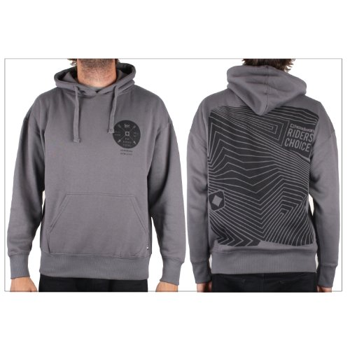 Headworx THE CHOICE Men's Hoodie - Charcoal - Small