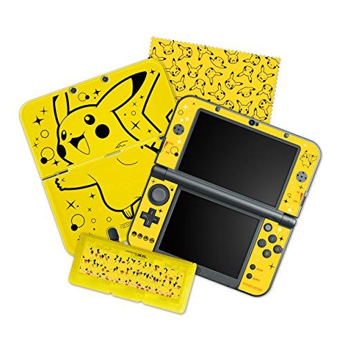 HORI Pikachu Pack Starter Kit for New Nintendo 3DS XL (3ds Starter Kit Zelda compare prices)
