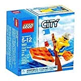 Lego City Set #5621 Mini Figure Coast Guard Kayak