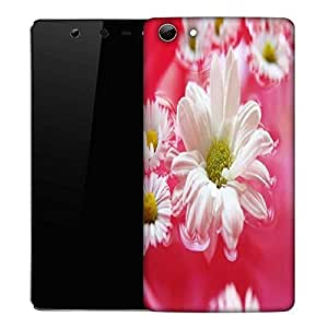 Snoogg beautiful flower in nature background Designer Protective Back Case Cover For Micromax Canvas Selfie Q348