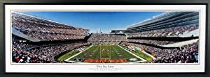Chicago Bears New Soldier Field First Day Game Panoramic Framed by Sports Gallery Authenticated