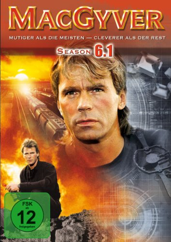 MacGyver - Season 6, Vol. 1 [3 DVDs]