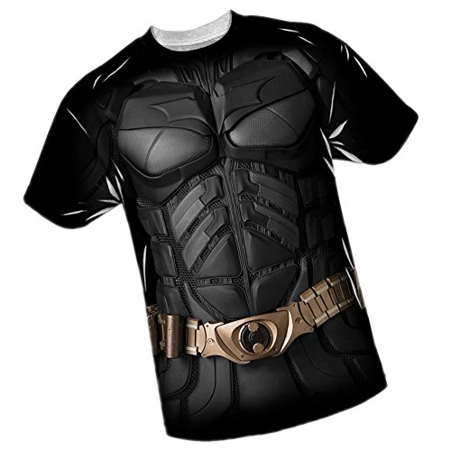 Batman -- The Dark Knight All-Over Front Print Sports Fabric T-Shirt