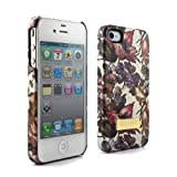 Ted Baker Hard Shell Apple iPhone 4 Case II - Women's - Blossom (Cream Base)