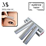 50pcs Razors For Eyebrows Microblading Sharp Brow Shaving Blades Trimmers For Make Up