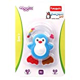 Giggles Penguin Pal Teether Ratle 2015, Multi Color
