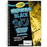 Crayola Wild Notes Black Journal