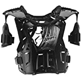 Thor Motocross Quadrant Roost Protector Adult Black/White