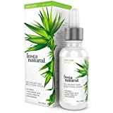 InstaNatural Vitamin C Skin Brightening Serum - Anti Wrinkle, Fine Line, Hyperpigmentation & More Serum for Face - Eye Bag & Age Eraser Facial Formula - With Hyaluronic Acid & Niacinamide - 1 OZ